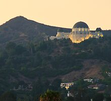 Griffith Observatory, Los Angeles CA by walter g. huber