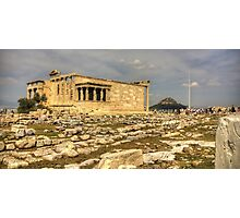 The Erechtheum Photographic Print