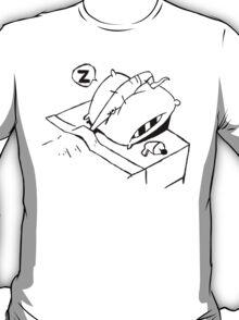 Earthworm Jim Takes a Nap T-Shirt