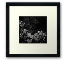 Twilight Flowers IV Framed Print