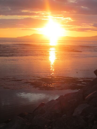 Donegal Sunset, Spiritual Fire, July 2012 by ArleneMartine