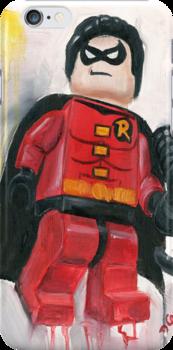 Robin in red by Deborah Cauchi
