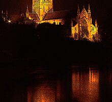 Worcester Cathdral by dmacwill