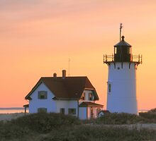 Race Point Light by Roupen  Baker