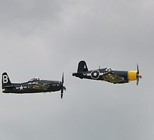 Bearcat and Corsair by Nigel Bangert