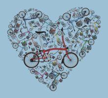 I Love Brompton Bikes Kids Clothes