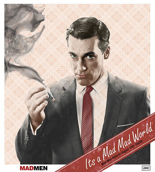 Mad Men Don Draper by Bob Melan