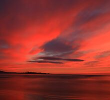 winter sky. eastcoast, tasmania by tim buckley | bodhiimages