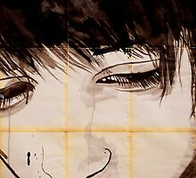 see my face by Loui  Jover