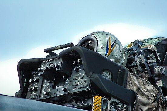 TOMCAT COCKPIT by OntheroadImage