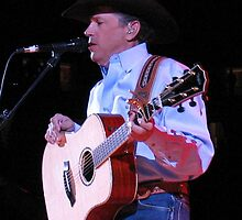 Mr. George Strait in Knoxville, Tennessee, 2007 by © Bob Hall