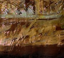 brown clay bank..... along the river  by banrai