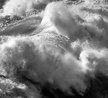 Winter Surf (B&W) by ZWC Photography