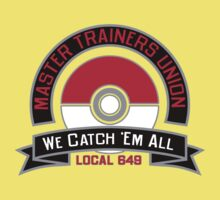 Master Trainers Union Local 649 Kids Clothes