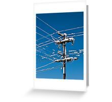 Power is Out... Greeting Card