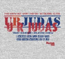 U R JUDAS by KARMA TEES  karma view photography