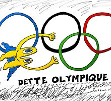 Dette Olympique avec Euroman en BD by Binary-Options
