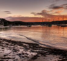 Clareville  Sunset - Clareville,Sydney Australia - The HDR Experience                  by Philip Johnson