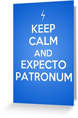 Keep Calm and Expecto Patronum by eraygakci