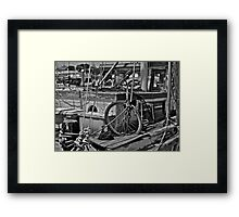 Could Use A Bit Of Work Framed Print