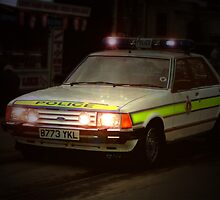 Ford Granada Police car  by larry flewers