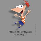 Phineas iphone cover. by ANDIBLAIR