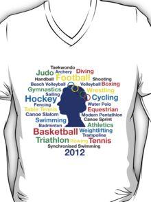 Queen Elizabeth London 2012 T-shirt T-Shirt
