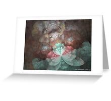 DAINTY BLOSSOMS Greeting Card
