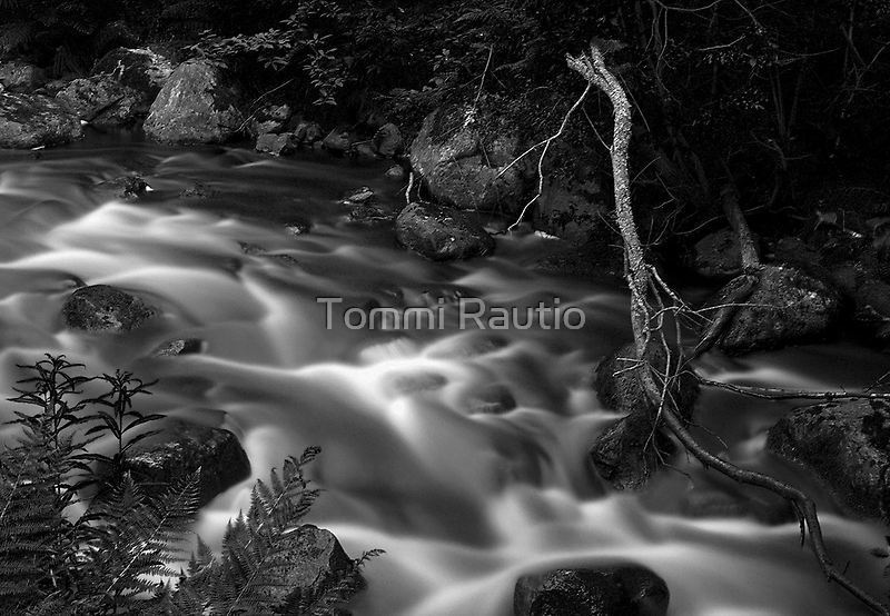 Flowing water 2 by Tommi Rautio