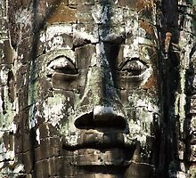 Bayon Face by Dr Kev Robinson