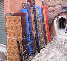 Moroccan carpets by TedT