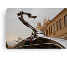 1932 Cadillac Hood Ornament Canvas Print