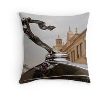 1932 Cadillac Hood Ornament Throw Pillow