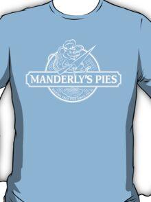 Manderly's Pies (in white) T-Shirt