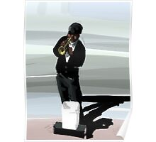 Jazz Man and His Shadow Poster