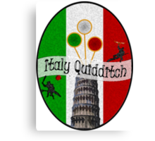 Italy Quidditch Canvas Print