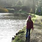 A stroll in the park. by Naomi  Dowdeswell