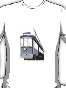 Vintage Streetcar Tram Train T-Shirt