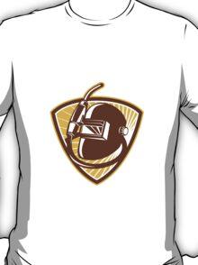 Welder Visor And Welding Torch Retro Shield T-Shirt