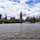 Thames and The Big Ben by AltheeaAdebisy