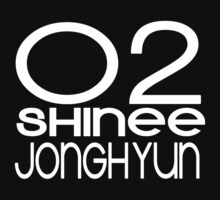 SHINee - Jonghyun [White Text] by himedesigns