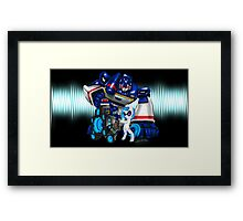 The Sonic Duo Framed Print