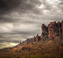 Monsoon in the Superstitions  by Saija  Lehtonen