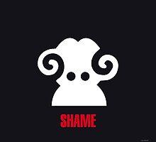 Negemotion: SHAME by ligaturedesign