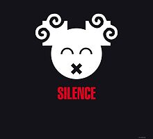 Negemotion: SILENCE by ligaturedesign