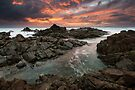 """""""Amidst the Flames of Dawn"""" ∞ Hastings Point, NSW - Australia by Jason Asher"""