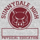 Sunnydale High PE by Dillon Finley