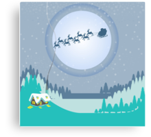 T'was the night before Christmas Canvas Print