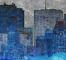 Skins:  City Blue by newyorknancy
