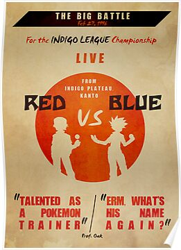 Red VS Blue by Josh Clark